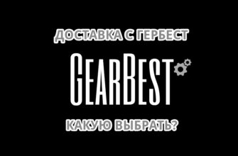 какую доставку с gearbest выбрать