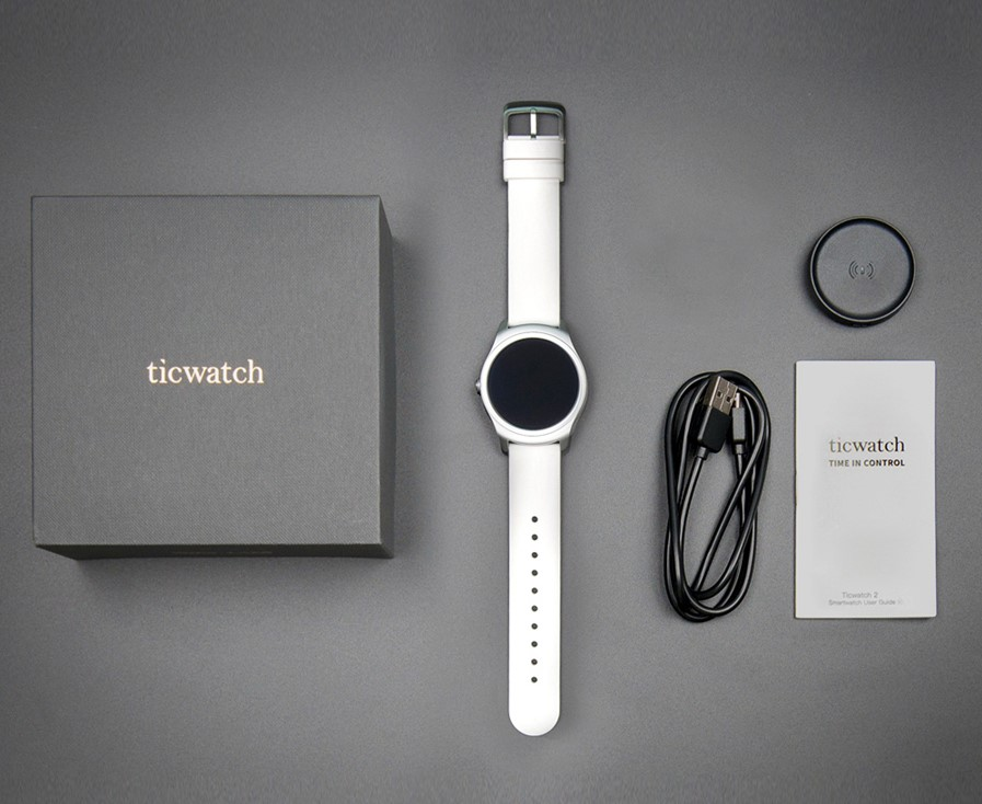 Ticwatch 2 смарт часы для занятий спортом купить на Banggood