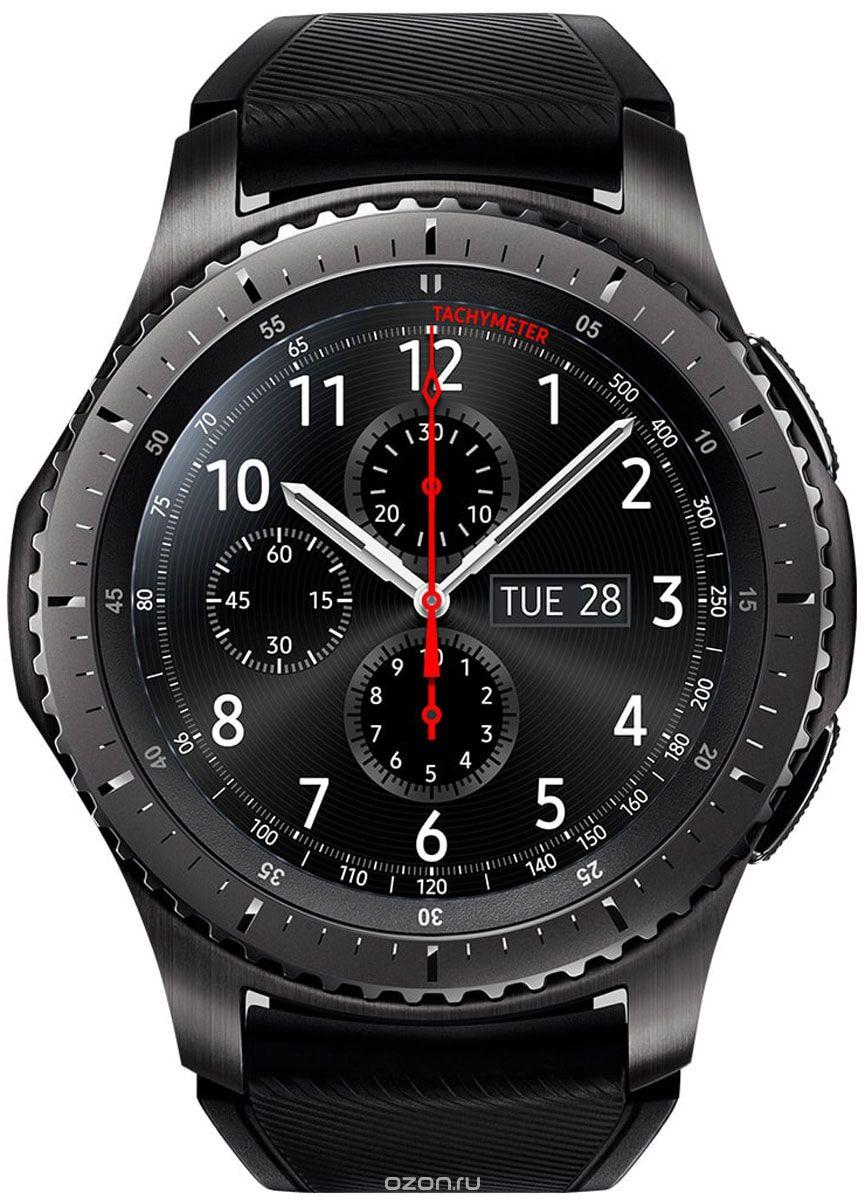 Samsung Gear S3 frontier смарт-часы для андроид и IOS