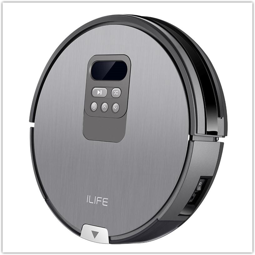 Ilife V80 робот-пылесос с большим пылесборником