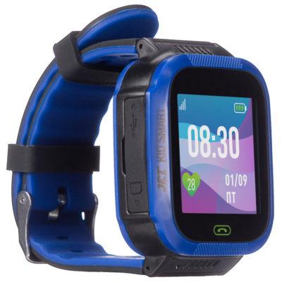 Jet KID Smart Dark Blue детские смарт часы с сим картой