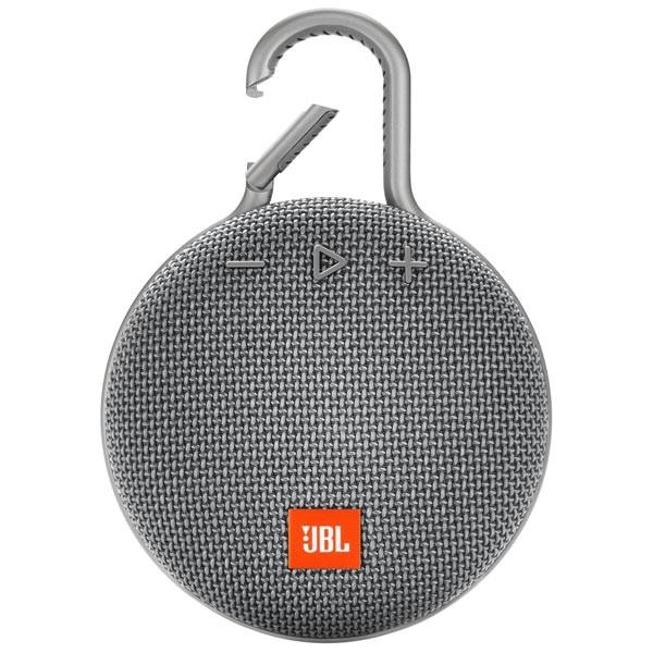 JBL Clip 3 компактная портативная колонка с клипсой для подвешивания к рюкзаку или сумке