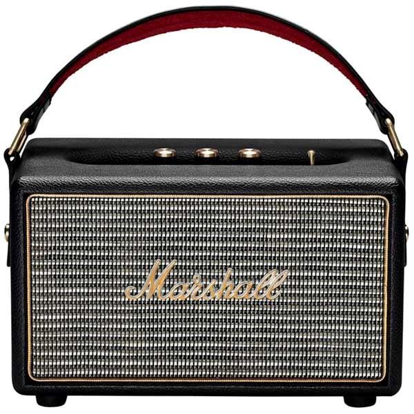 Marshall kilburn крутая портативная акустика в стиле олдскул со встроенным сабвуфером