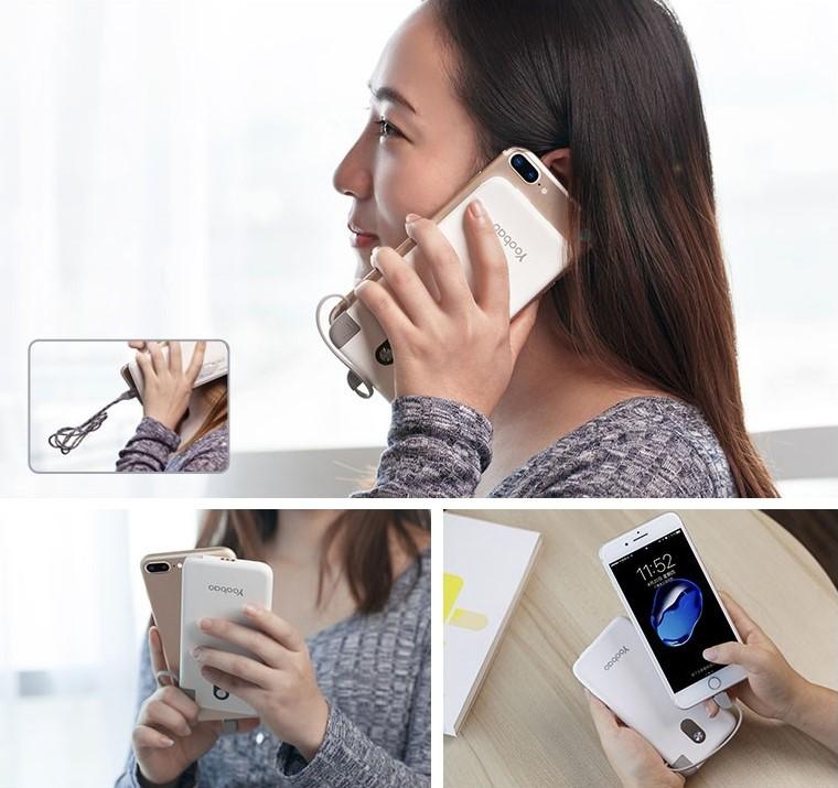 внешний аккумулятор для смартфона можно носить везде и всегда с собой на случай если телефон разрядится