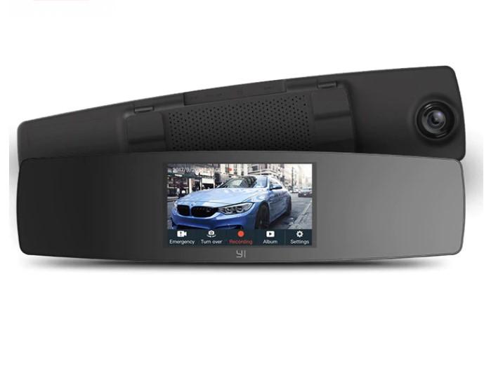 YI mirror Dash Cam видеорегистратор-заркало заднего вида на алиэкспресс