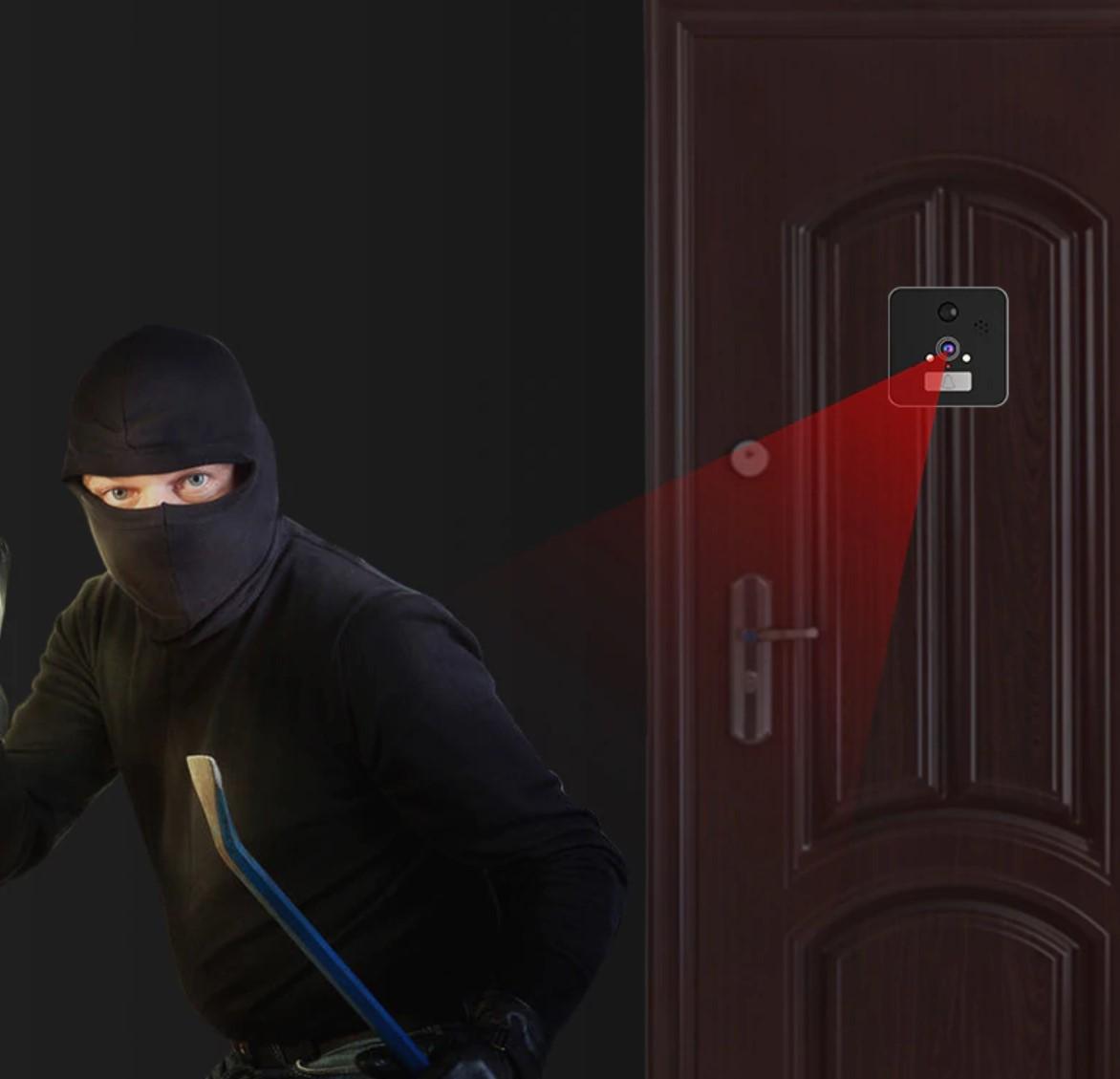 экшен камера как видеоглазок для охраны и защиты дома
