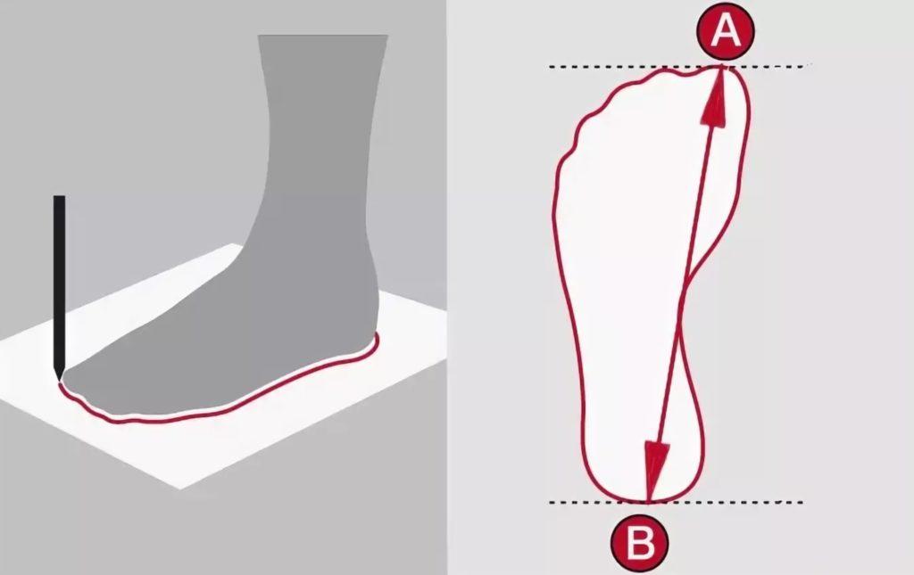 как померить стопу ребенку для покупки обуви на алиэкспресс?
