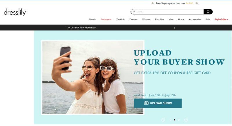 Dresslily китайские интернет магазины на русском дешевые