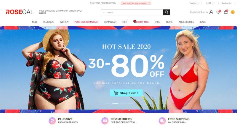 Rosegal китайский интернет магазин одежды на русском с бесплатной доставкой в россию