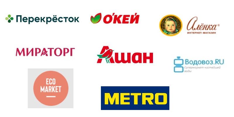 список интернет-доставок еды с доставкой на дом